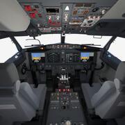 Kokpit Boeinga 737 MAX 3d model
