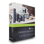 Utensílios de cozinha modelos 3D Mental Ray 3d model