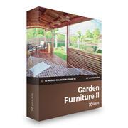 Trädgårdsmöbler II 3D-modeller Mental Ray 3d model
