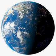 Dünya gezegeni 3d model