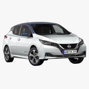 2018 Nissan Leaf 3d model