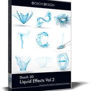 Dosch 3D - Sıvı Etkileri Cilt 2 3d model