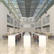 Bibliothek Industrie 3d model