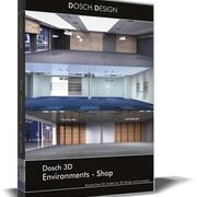 Dosch 3D - Ortamlar - Mağaza 3d model
