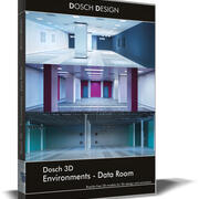 Dosch 3D - Environments - Data Room 3d model