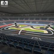 Yarış Arenası 3d model