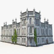 Antigua residencia abandonada modelo 3d