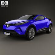 丰田C-HR Concept 2014 3d model