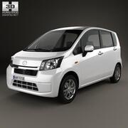 Daihatsu Move 2012 3d model