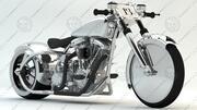Cromo modelo 3d