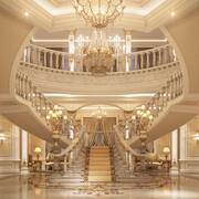 Luxury Entrance Lobby 3d model