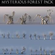 Paquete Bosque Misterioso 22 modelo 3d