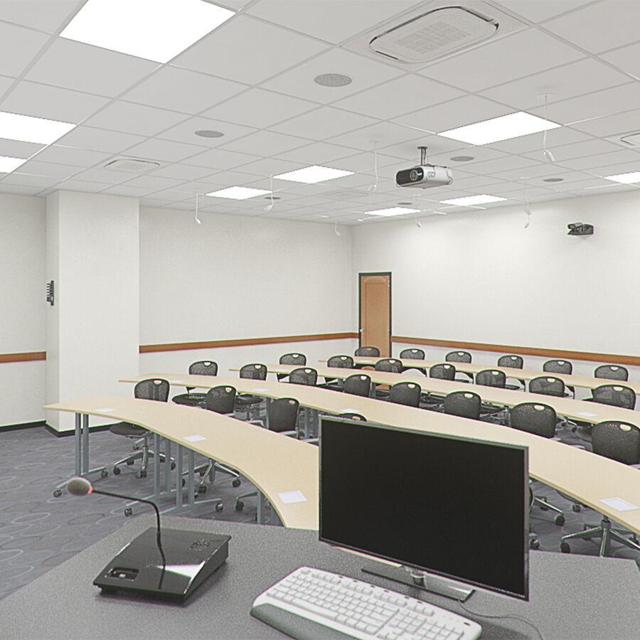Fotorealistyczna architektura klasy 006 V2 royalty-free 3d model - Preview no. 1