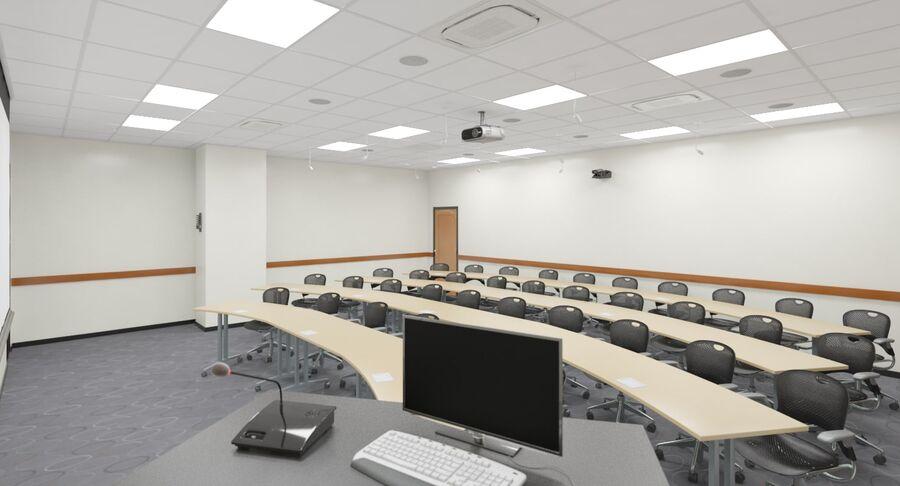 Fotorealistyczna architektura klasy 006 V3 royalty-free 3d model - Preview no. 4