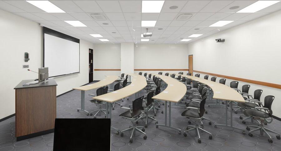 Fotorealistyczna architektura klasy 006 V3 royalty-free 3d model - Preview no. 11