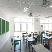 Fotorealistyczna klasa szkolna 10 3d model