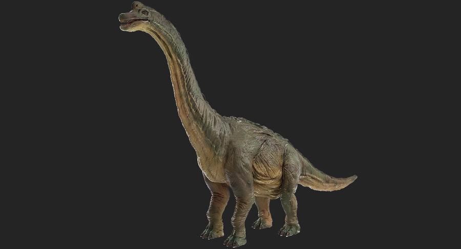Braquiosaurio royalty-free modelo 3d - Preview no. 3