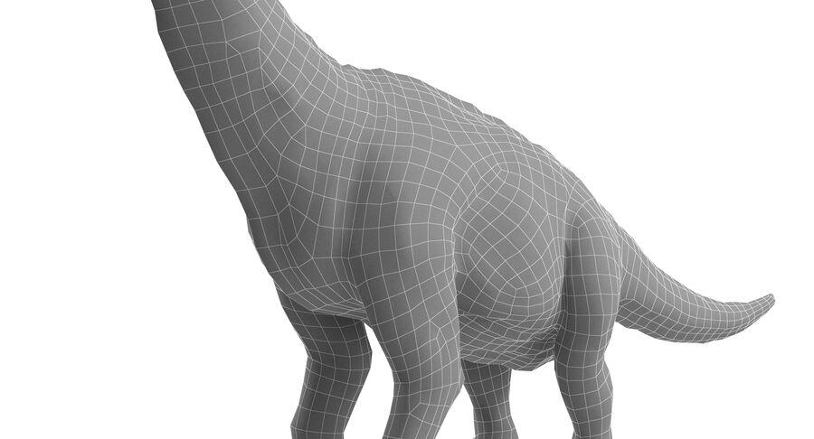 Braquiosaurio royalty-free modelo 3d - Preview no. 16