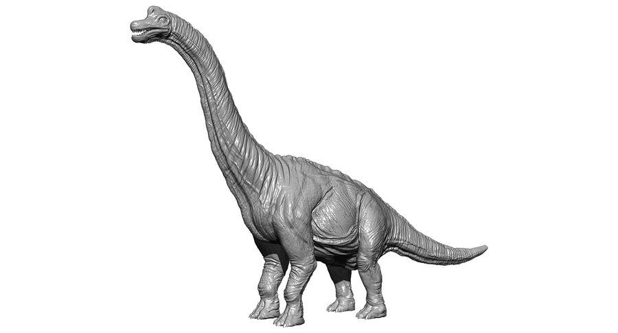 Braquiosaurio royalty-free modelo 3d - Preview no. 23