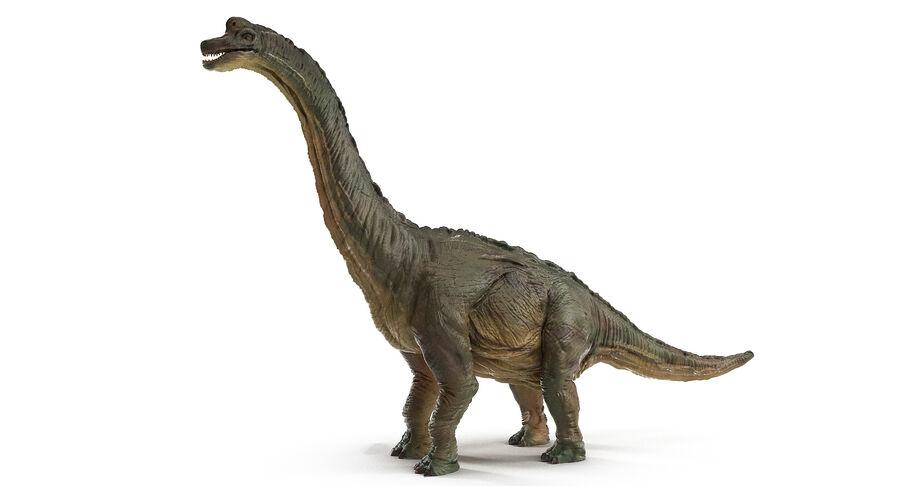 Braquiosaurio royalty-free modelo 3d - Preview no. 5