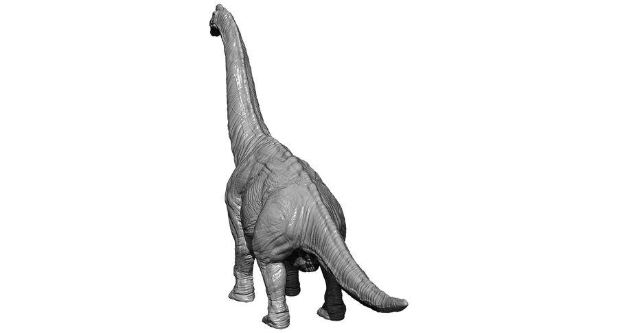 Braquiosaurio royalty-free modelo 3d - Preview no. 25