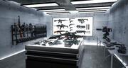 Deposito di armi 3d model