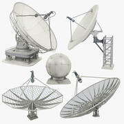 Antenne parabolique Mega Collection 3d model