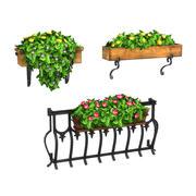 Saksı Bitkileri Paketi 5 3d model