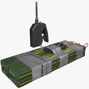 C4爆弾 3d model