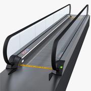 Passage mobile d'aéroport 3d model