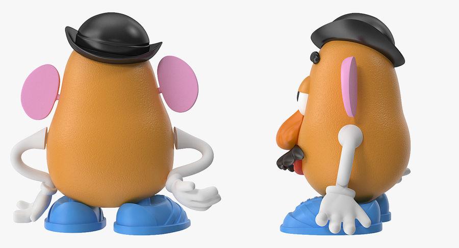 Panie Potato Head royalty-free 3d model - Preview no. 7