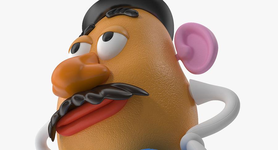 Panie Potato Head royalty-free 3d model - Preview no. 10