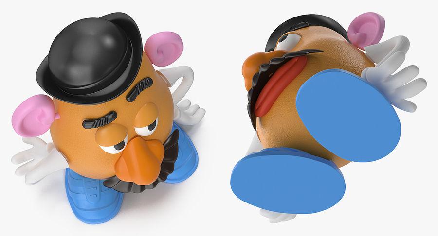 Panie Potato Head royalty-free 3d model - Preview no. 5