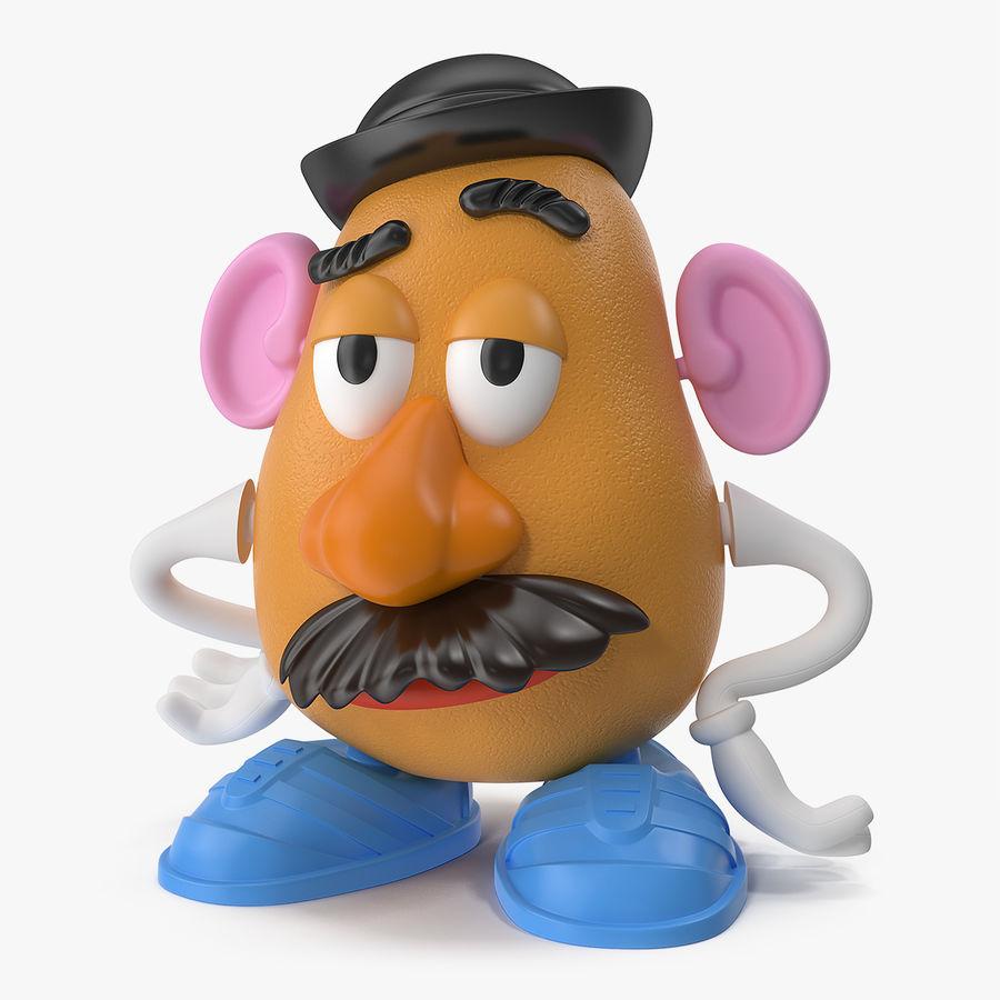 Panie Potato Head royalty-free 3d model - Preview no. 1