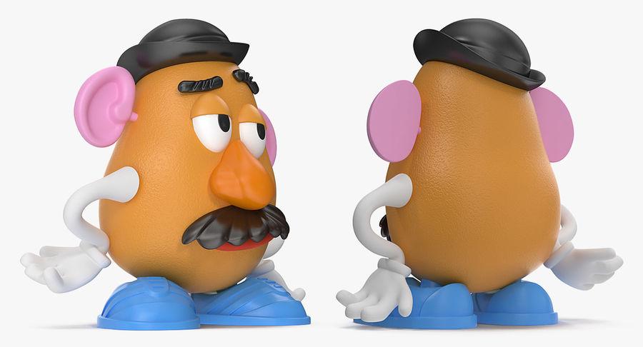 Panie Potato Head royalty-free 3d model - Preview no. 4