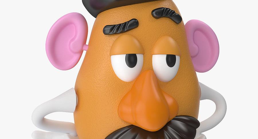 Panie Potato Head royalty-free 3d model - Preview no. 8