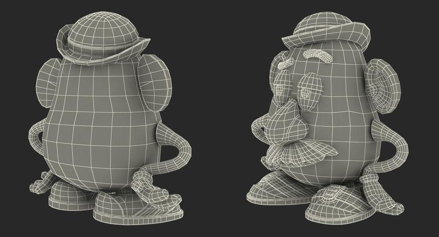 Panie Potato Head royalty-free 3d model - Preview no. 18