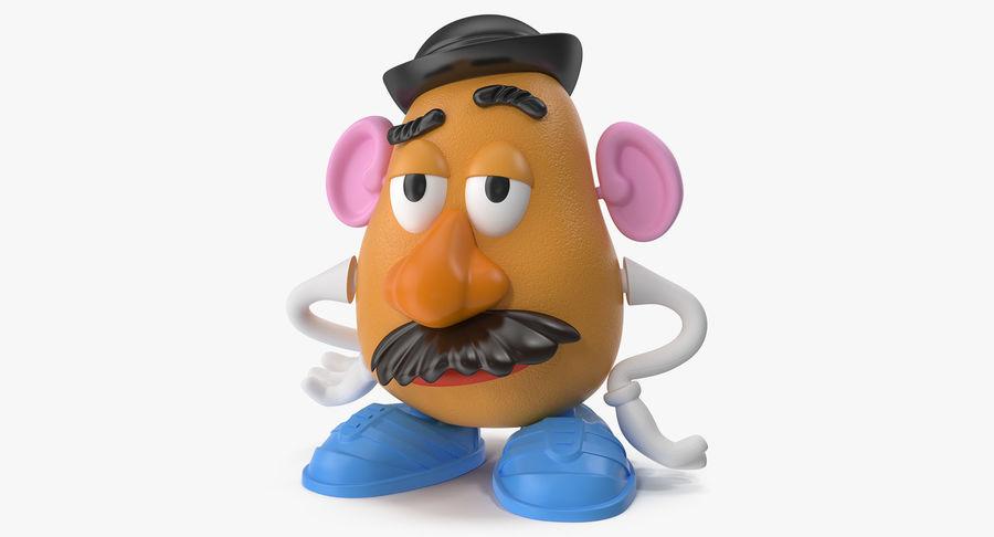 Panie Potato Head royalty-free 3d model - Preview no. 2