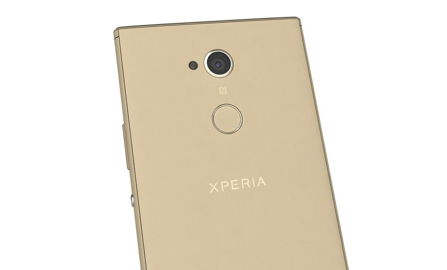 Sony Xperia XA2 Ultra Gold royalty-free 3d model - Preview no. 15