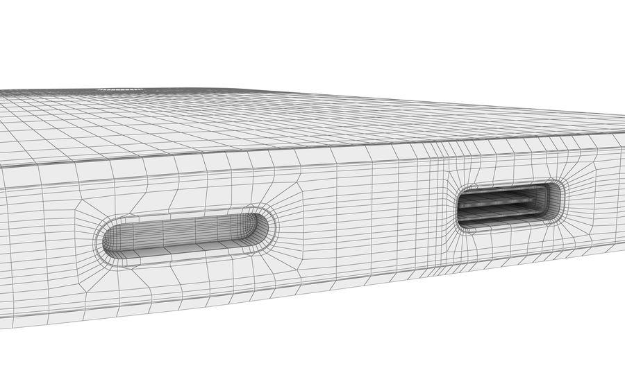 索尼Xperia XA2 Ultra Gold royalty-free 3d model - Preview no. 25