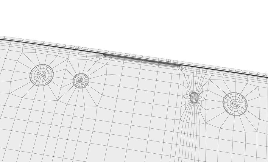 索尼Xperia XA2 Ultra Gold royalty-free 3d model - Preview no. 19