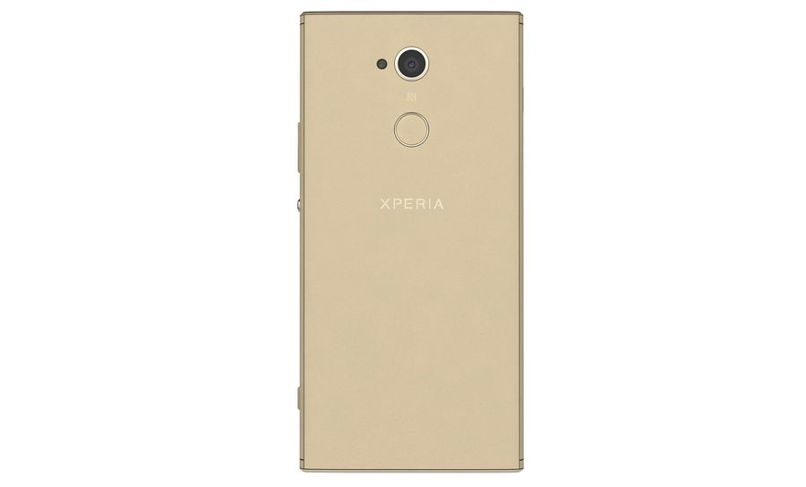 Sony Xperia XA2 Ultra Gold royalty-free 3d model - Preview no. 8