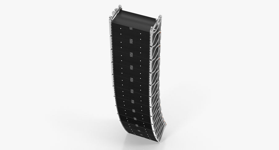 Concert Stage Array Audio System royalty-free 3d model - Preview no. 3