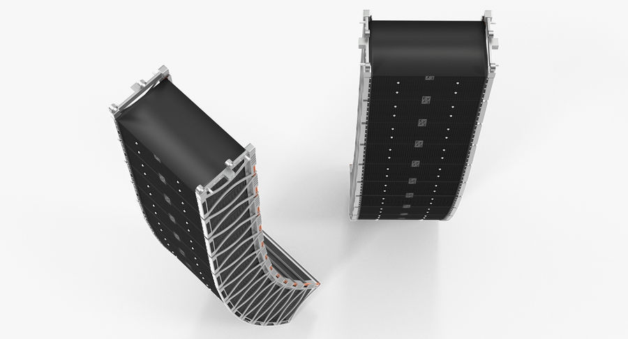 Concert Stage Array Audio System royalty-free 3d model - Preview no. 6