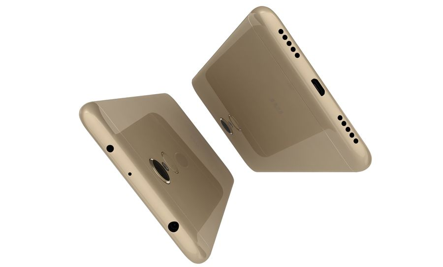 Xiaomi Redmi 5 Gold royalty-free 3d model - Preview no. 11