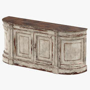 Traditional Sideboard 3d model