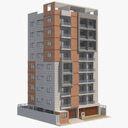 Apartament Budynek_6 3d model