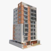 Apartment Building_6 3d model