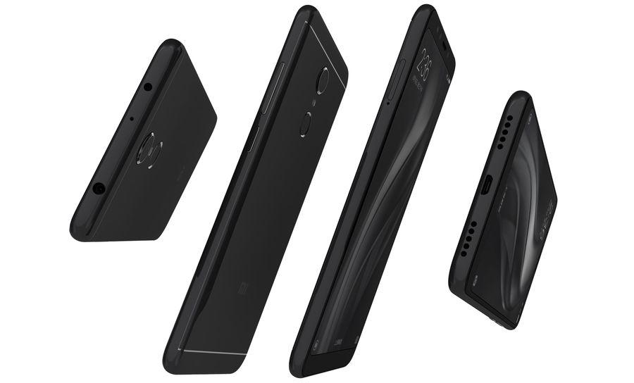 Xiaomi Redmi 5 Black royalty-free 3d model - Preview no. 12