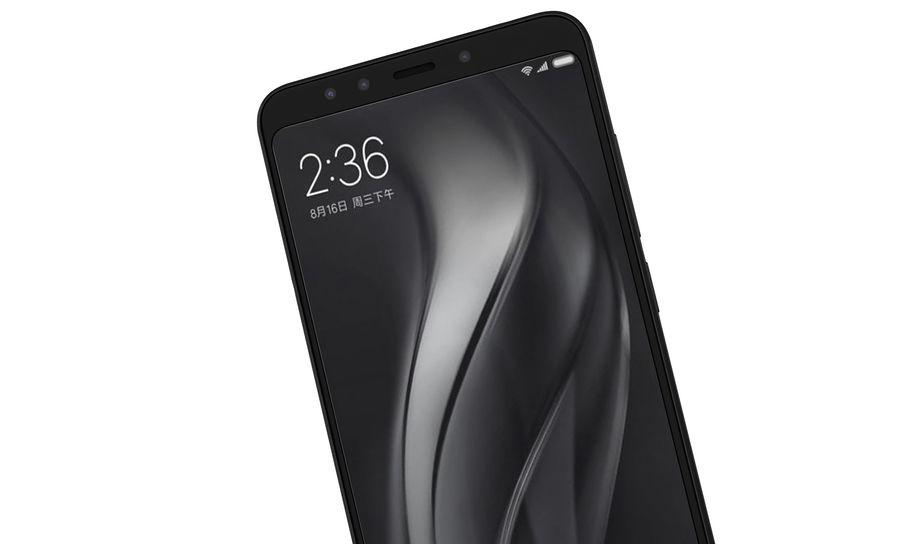 Xiaomi Redmi 5 Black royalty-free 3d model - Preview no. 15